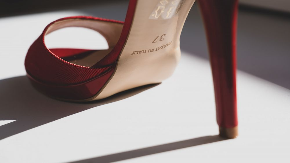 A Photo Of A Red High Heels 3682291